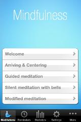 mindfulness iPhone