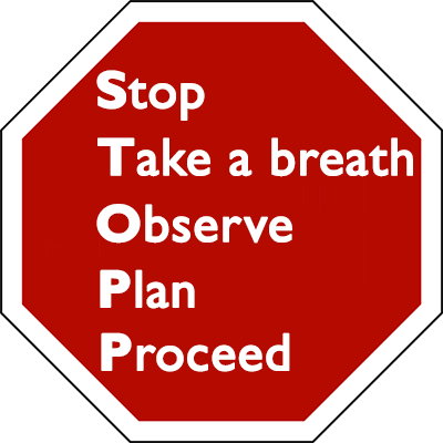 STOPP and Be Mindful - Greg Dorter Therapy Blog